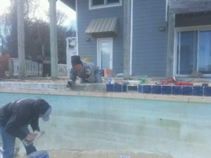duck concrete pools